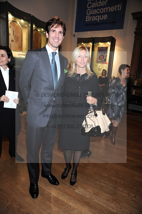 CROWN PRINCE PAVLOS and PRINCESS MARIE CHANTAL OF GREECE at the opening of the Royal Academy of Arts Byzantium 330-1453 exhibition held at the RA, Burlington House, Piccadilly, London on 21st October 2008.
