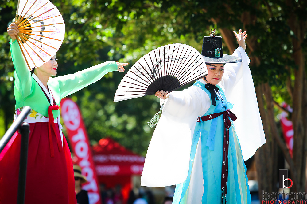Asia Fest in downtown Plano, Texas on Saturday, May 6, 2017. (Photo by Kevin Bartram)