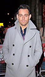 Ben Forster attends White Christmas Press Night at The Dominion Theatre, Tottenham Court Road, London on Wednesday 12 November 2014
