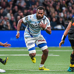 Leone Nakarawa of Racing during the Top 14 match between Racing 92 and Stade Rochelais at Paris La Defense Arena on March 2, 2019 in Nanterre, France. (Photo by Aude Alcover/Icon Sport) - Leone NAKARAWA - Paris (France)