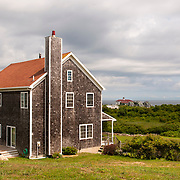 Cedar Shingle Beach House on Block Island, Rhode Island