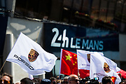 June 13-18, 2017. 24 hours of Le Mans. Le Mans atmosphere at the podium