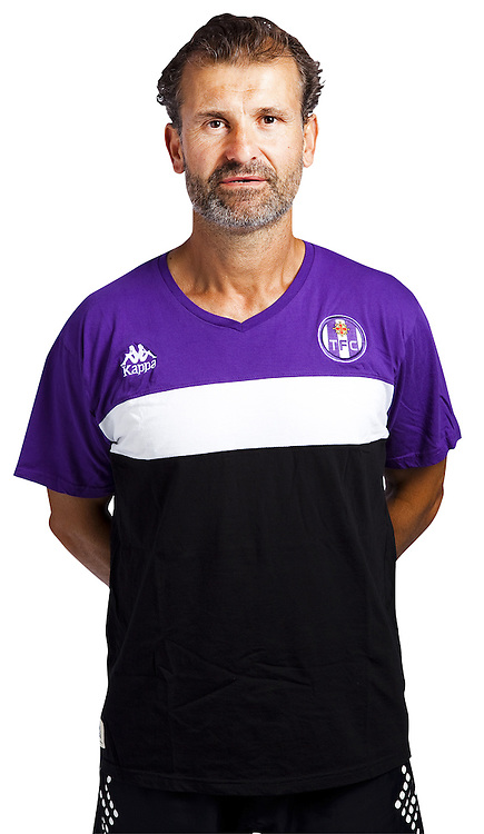 Denis Valour - 03.10.2014 - Portrait Officiel - Toulouse - Ligue 1<br /> Photo : Saada / Icon Sport