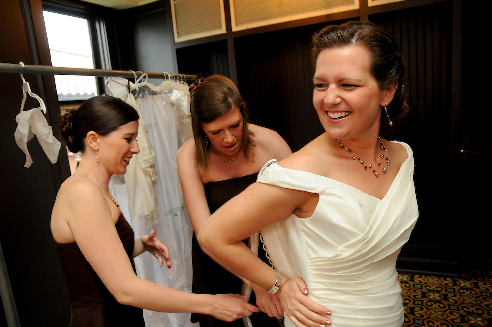 Thursday. May 15, 2009- The wedding of Jake Kelly and Laura Glyda at the South Shore Cultural Center.