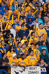 October 10, 2009; San Jose, CA, USA;  San Jose State Spartans fans during the second quarter against the Idaho Vandals at Spartan Stadium.