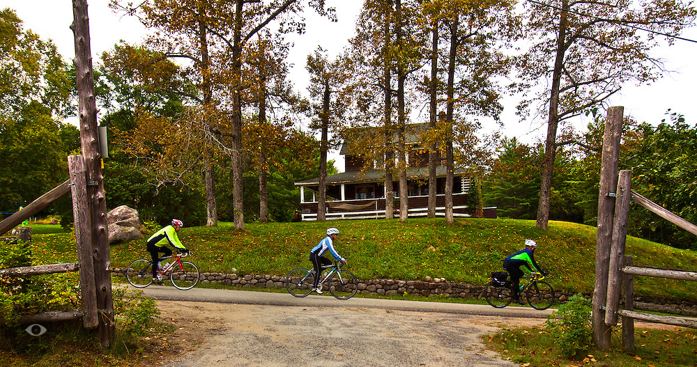 Day 6 at Old Forge and Inlet to Long Lake on Friday, September 12, 2014.  L.E. Baskow