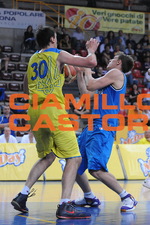 DESCRIZIONE : 06/06/2008 Verona Memorial Vicenzi Italia Ukcraina<br /> GIOCATORE : Luca Lechtahler<br /> SQUADRA : Nazionale Italia Uomini<br /> EVENTO : Memorial Vicenzi<br /> GARA : Italia Ukraina<br /> DATA : 06/06/2008<br /> CATEGORIA :  Rimbalzo<br /> SPORT : Pallacanestro<br /> AUTORE : Agenzia Ciamillo-Castoria/M.Gregolin