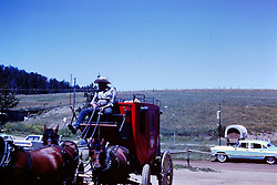 Vacation trip to South Dakota - Custer State Park-  circa 1963<br /> <br />  Photos taken by George Look.  Image started as a color slide.