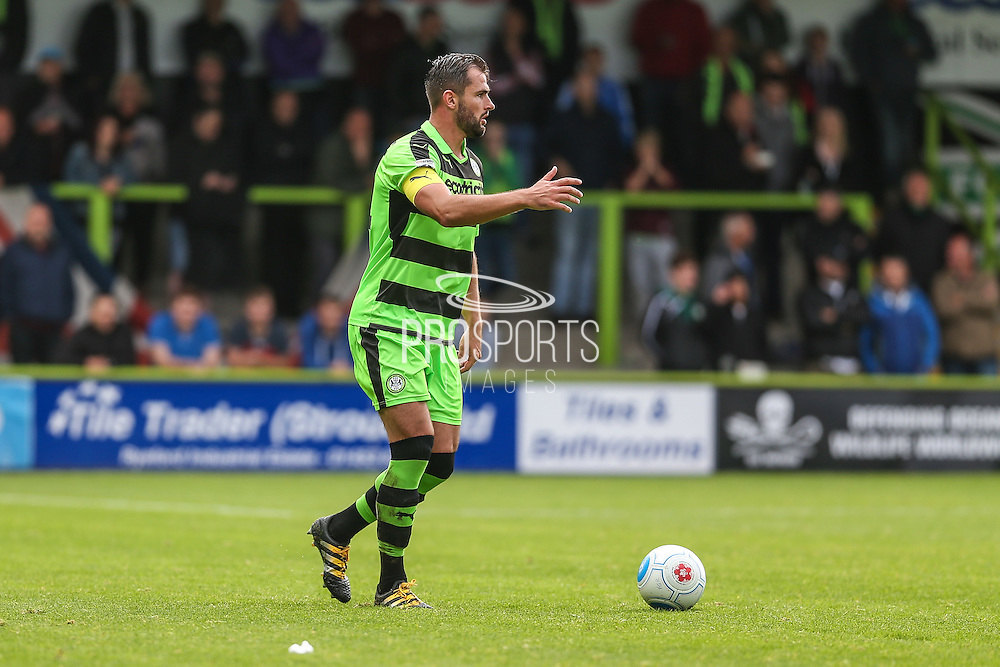 Forest Green Rovers Aarran Racine (21) runs forward during the Vanarama National League match between Forest Green Rovers and York City at the New Lawn, Forest Green, United Kingdom on 20 August 2016. Photo by Shane Healey.