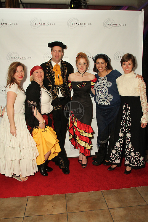 Seattle Opera Bravo! Club Carmen Costume Party Oct. 2011.