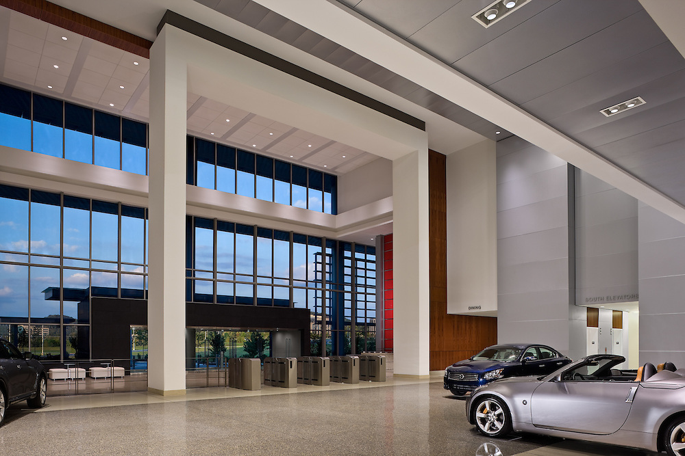 Nissan USA Headquarters Lobby 07 - Franklin, TN