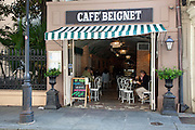 Cafe Beignet; 311 Royal Street in the French Quarter of New Orleans