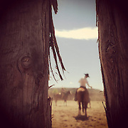 Authentic. Cowboy Corral, Northern New Mexico.
