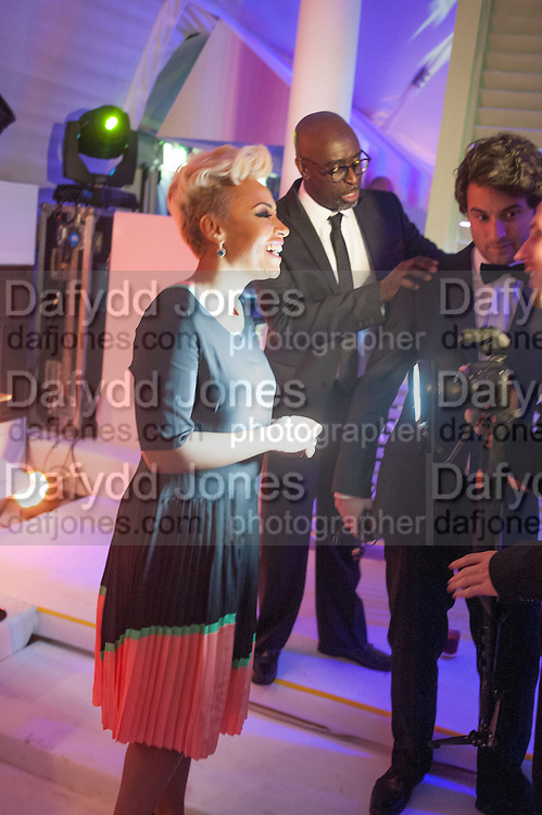 EMILIE SANDE, Grey Goose Winter Ball to benefit the Elton John Aids Foundation. Battersea Power Station. London. 10 November 2012.