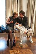 MELISSA WYNDHAM; HENRY HUDSON, Book launch party for the paperback of Nicky Haslam's book 'Sheer Opulence', at The Westbury Hotel. London. 21 April 2010
