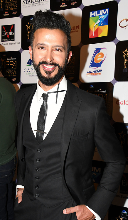 Celebrities arrives at the Annual International Pakistan Prestige Awards (IPPA) at Indigo at The O2 on 9th September 2018, London, UK