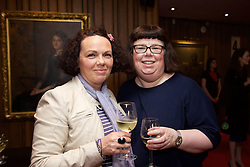 19/08/2015<br /> Pictured at the opening night of 'The Bog of Cats' by Marina Carr at The Abbey Theatre were (L-R) Sarah Gallagher and Tracy Geraghty.
