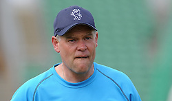 Somerset's Coach Pete Sanderson. - Photo mandatory by-line: Harry Trump/JMP - Mobile: 07966 386802 - 14/06/15 - SPORT - CRICKET - LVCC County Championship - Division One - Day One - Somerset v Nottinghamshire - The County Ground, Taunton, England.