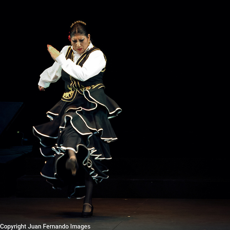 Manuela Carrasco Company presenting Suspiro Flamenco at the New York City Center