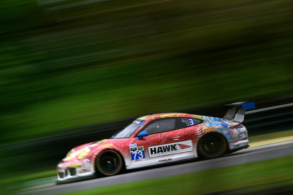 22-24 August 2014, Alton, Virginia USA<br /> 73, Porsche, 911 GT America, GTD, Patrick Lindsey, Mike Skeen<br /> &copy;2014, Scott R LePage <br /> LAT Photo USA