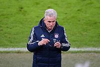 Fussball  DFB Pokal  Achtelfinale  2017/2018   FC Bayern Muenchen - Borussia Dortmund        20.12.2017 Trainer Jupp Heynckes (FC Bayern Muenchen)