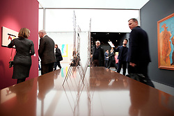 UK ENGLAND LONDON 4OCT17 - Visitors mingle amongst works of art on display during the Frieze Masters art fair in Regents Park, central London.<br /> <br /> jre/Photo by Jiri Rezac<br /> <br /> &copy; Jiri Rezac 2017