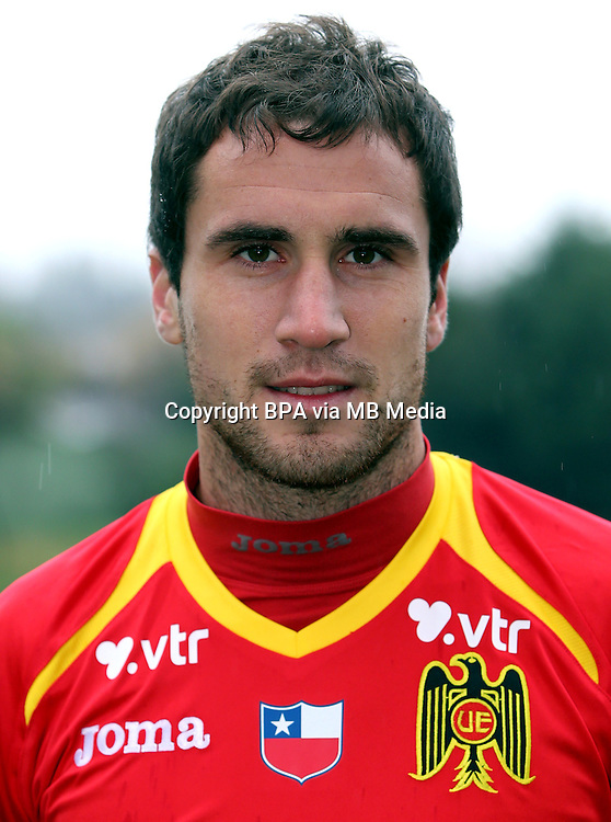 Chile Football League Serie A  /<br /> ( Union Espanola ) - <br /> Nicolas Berardo