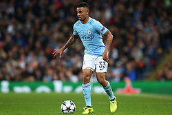 Gabriel Jesus of Manchester City - Mandatory by-line: Matt McNulty/JMP - 26/09/2017 - FOOTBALL - Etihad Stadium - Manchester, England - Manchester City v Shakhtar Donetsk - UEFA Champions League Group stage - Group F