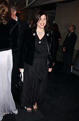 The HON.KIRSTIE ALLSOPP at the Conservative Party's Black & White Ball held at Old Billingsgate, 16 Lower Thames Street, London EC3 on 8th February 2006.<br />
