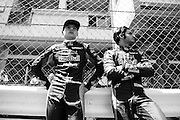 May 20-24, 2015: Monaco - Max Verstappen, Scuderia Toro Rosso , Carlos Sainz Jr. Scuderia Toro Rosso
