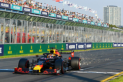 March 16, 2019 - Melbourne, Victoria, Australia - Pierre Gasly (10) of France drives the Aston Martin Red Bull Racing RB15 during qualifying for the Australian Formula 1 Grand Prix at Albert Park on March 16, 2019 in Melbourne, Australia  (Credit Image: © Morgan Hancock/NurPhoto via ZUMA Press)