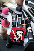 NEW YORK CITY - FEBRUARY 23: MAC Cosmetics with Betty Boop on February 23, 2017 in New York City. (Photo by Ben Hider)