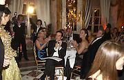 R. Couri Hay and Sharon Bush. The 2005 Crillon Debutante Ball. Crillon Hotel, Paris. 26  November 2005. ONE TIME USE ONLY - DO NOT ARCHIVE  © Copyright Photograph by Dafydd Jones 66 Stockwell Park Rd. London SW9 0DA Tel 020 7733 0108 www.dafjones.com