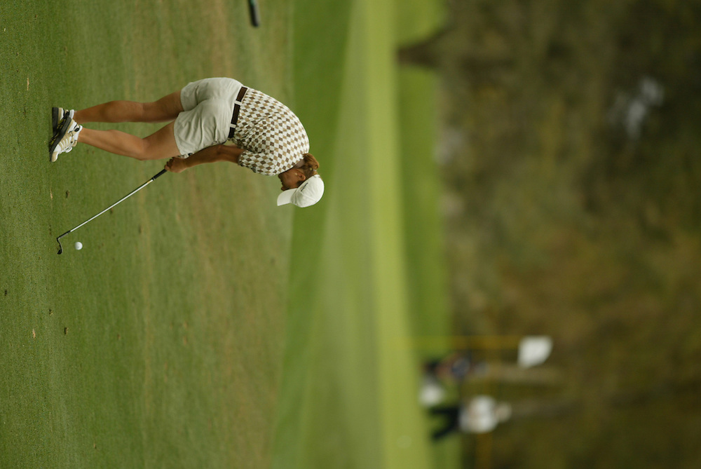 Sophie Gustafson..LPGA Welch's Fry's Round 2..Dell Urich GC at Randolph Park..Tucson, AZ..March 13, 2003..Photograph by Darren Carroll ..X67922
