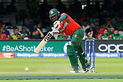Mosaddek Hossain of Bangladesh batting during the ICC Cricket World Cup 2019 match between Pakistan and Bangladesh at Lord's Cricket Ground, St John's Wood, United Kingdom on 5 July 2019.