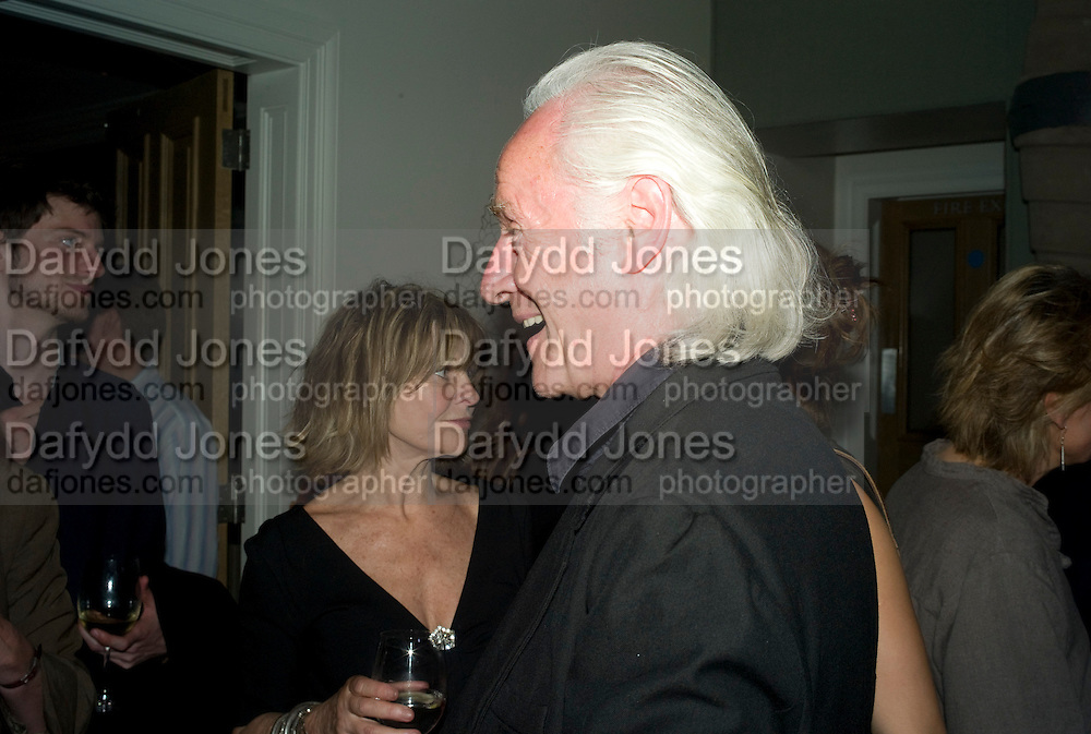JULIE CHRISTIE AND DUNCAN CAMPBELL,  'Cries from the Heart' presented by Human Rights Watch at the Theatre Royal Haymarket. London. Party afterwards at the Haymarket Hotel. June 8, 2008 *** Local Caption *** -DO NOT ARCHIVE-© Copyright Photograph by Dafydd Jones. 248 Clapham Rd. London SW9 0PZ. Tel 0207 820 0771. www.dafjones.com.