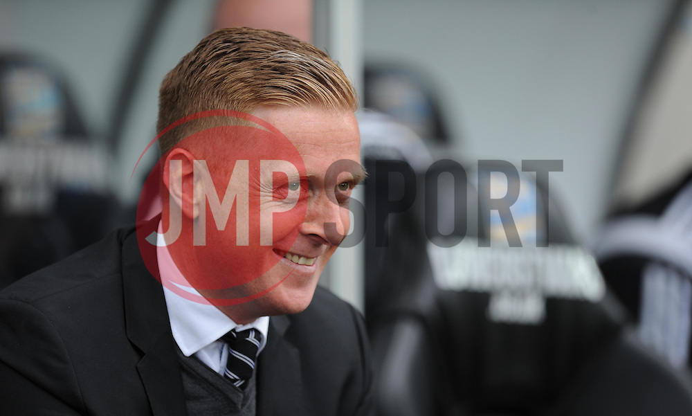 Swansea City Manager, Garry Monk - Photo mandatory by-line: Alex James/JMP - Mobile: 07966 386802 - 17/05/2015 - SPORT - Football - Swansea - The Liberty stadium - Swansea City v Manchester City - Barclays premier league