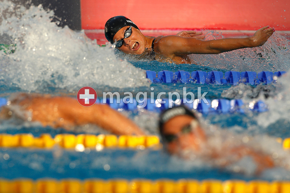 Martina VAN BERKEL of Switzerland competes in the women's 200m Butterfly Semifinal 1 at the European Swimming Championship at the Hajos Alfred Swimming complex in Budapest, Hungary, Saturday, Aug. 14, 2010. (Photo by Patrick B. Kraemer / MAGICPBK)
