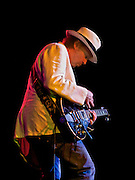 Neil Young performing on Les Noise tour 2011.