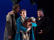 The Siege of Calais <br /> English Touring Opera at Hackney Empire, London, Great Britain <br /> rehearsal <br /> 2nd March 2015 <br /> <br /> music by Dinizetti <br /> words by Salvatore Cammarano <br /> directed by James Conway <br /> <br /> <br /> <br /> Paula Sides as Eleonora<br /> <br /> <br /> Photograph by Elliott Franks <br /> Image licensed to Elliott Franks Photography Services