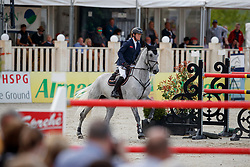 HANLEY Cameron (IRL), Quirex<br /> Hagen - Horses and Dreams meets the Royal Kingdom of Jordan 2018<br /> Grosser Preis der DKB Qualifikation DKB-Riders Tour<br /> 30 April 2018<br /> www.sportfotos-lafrentz.de/Stefan Lafrentz