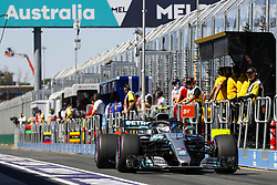 March 23, 2018 - Melbourne, Victoria, Australia - BOTTAS Valtteri (fin), Mercedes AMG F1 Petronas GP W09 Hybrid EQ Power+, action during 2018 Formula 1 championship at Melbourne, Australian Grand Prix, from March 22 To 25 - Photo  Motorsports: FIA Formula One World Championship 2018, Melbourne, Victoria : Motorsports: Formula 1 2018 Rolex  Australian Grand Prix,   #77 Valtteri Bottas (FIN, Mercedes AMG Petronas) (Credit Image: © Hoch Zwei via ZUMA Wire)