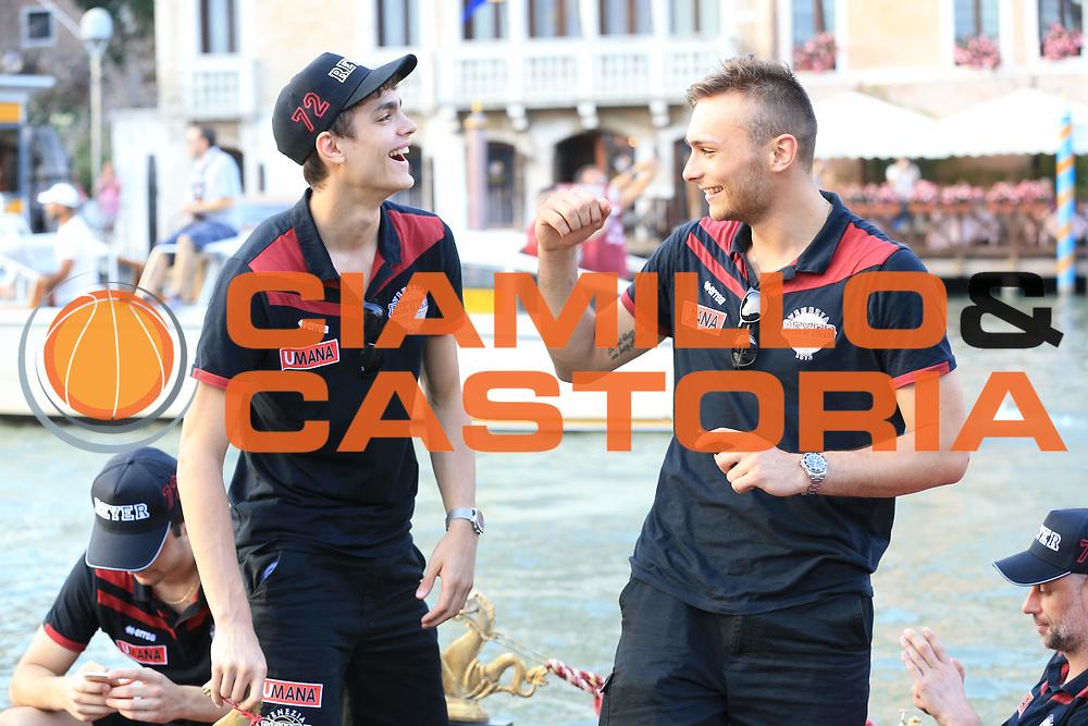 Umana Reyer Venezia Festa Scudetto<br /> Lega Basket Serie A 2016/2017<br /> Venezia 23/06/2017<br /> Foto Ciamillo-Castoria/A. Gilardi