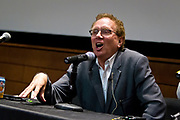 """John Nichols speaks during """"Celebrating two progressive icons — The Capital Times at 100 and the late Ed Garvey at the Cap Times 2017 Idea Fest, Saturday, September 16, 2017"""