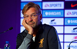 HONG KONG, CHINA - Tuesday, July 18, 2017: Liverpool's manager Jürgen Klopp during a press conference at the Grand Hyatt Hotel Hong Kong ahead of the Premier League Asia Trophy 2017. (Pic by David Rawcliffe/Propaganda)