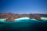 An aerial description from baja california sur.