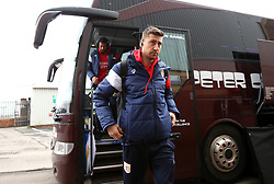 Jens Hegeler of Bristol City arrives at Barnsley - Mandatory by-line: Robbie Stephenson/JMP - 30/03/2018 - FOOTBALL - Oakwell Stadium - Barnsley, England - Barnsley v Bristol City - Sky Bet Championship