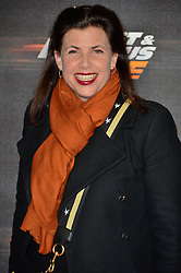 © Licensed to London News Pictures. 19/01/2018. London, UK. KIRSTY ALLSOPP attends the world premiere of Fast & Furious live show at the O2. Cars will perform stunts and scenes capturing the spirit of the film series. Photo credit: Ray Tang/LNP