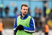 Bristol Rovers Midfielder, Chris Lines (14) during the EFL Sky Bet League 1 match between Bristol Rovers and Scunthorpe United at the Memorial Stadium, Bristol, England on 25 February 2017. Photo by Adam Rivers.