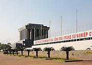 Ho Chi Minh Mausoleum and  Ba Dinh Square,  Hanoi, Vietnam